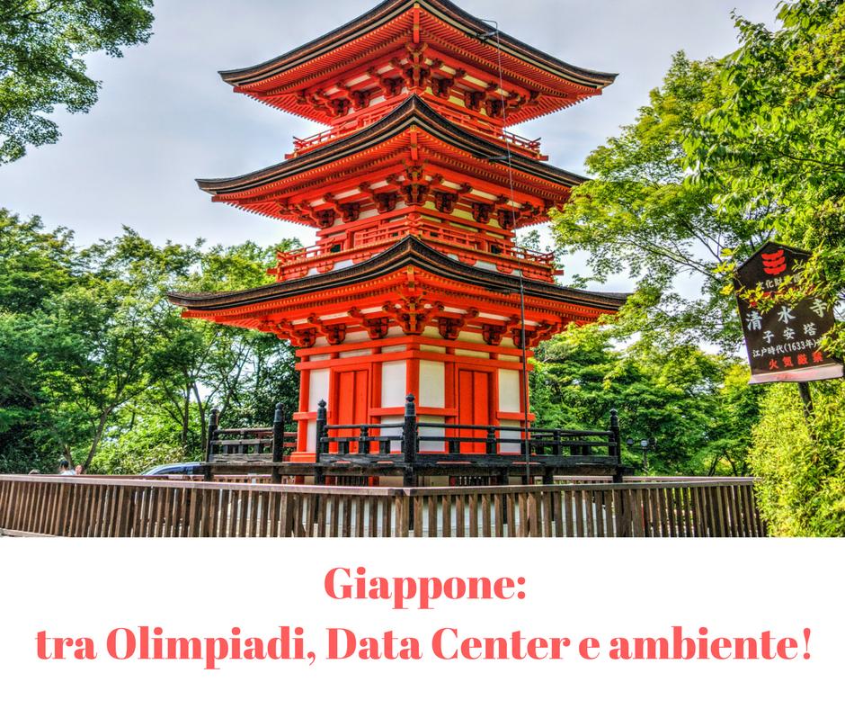 Giappone: tra Data Center, Olimpiadi e progresso!