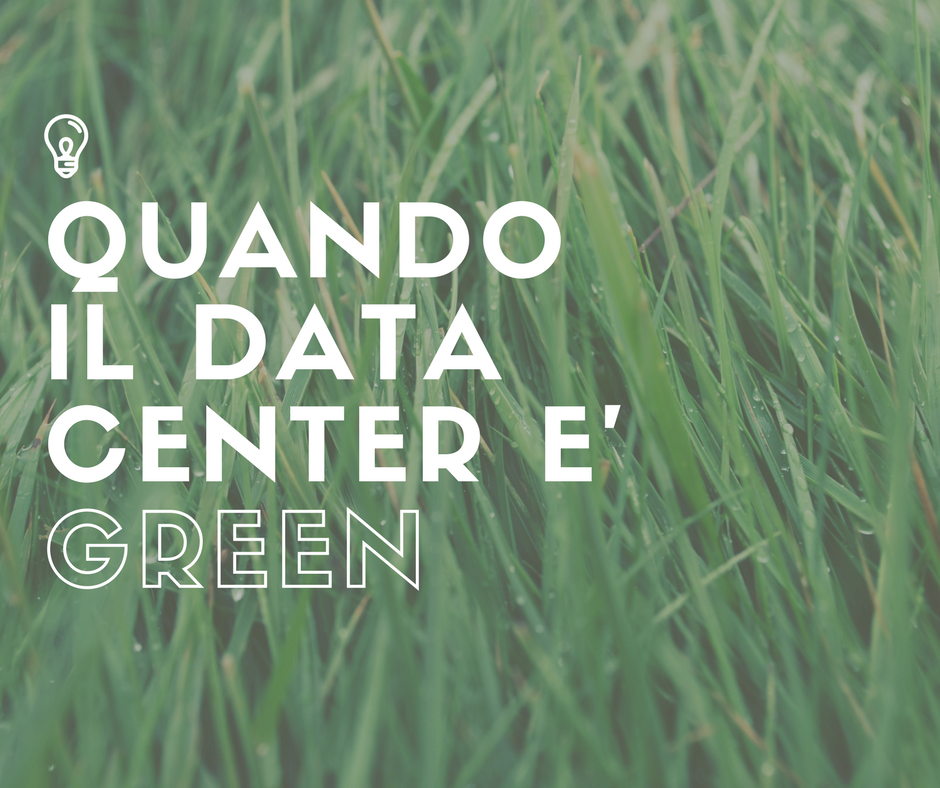 Data center: sempre più green!